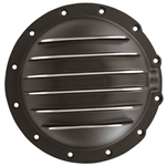 Black Aluminum Rear End Cover Jeep Corp