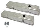 Aluminum Valve Covers SB Chevy 283-400 Short Ballmill