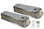 Aluminum Valve Covers BB Chevy 1965-1995 Ball Mill Tall