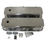 Aluminum Valve Covers BB Chevy 1965-1995 Smooth Tall