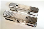 Fabricated Finned Ford Valve Covers 390 406 427 428
