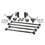Rear Suspension Kit 4 Link Universal Fit. Steel Un-Painted