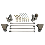Rear Suspension Kit 4 Link Universal Fit. Stainless Steel
