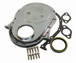 Polished Aluminum Timing Cover BB Chevy 396-454 w/ SS Bolts & Gaskets