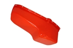 SB Chevy Oil Pan Orange Steel 283-400 1955-1979