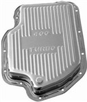 Chrome Steel Transmission Pan GM Turbo 400