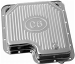 Chrome Steel Transmission Pan Ford C 6 Stock Depth