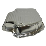 Chrome Steel Transmission Pan GM Turbo 400 Deep