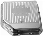 Chrome Steel Transmission Pan GM Turbo 350  Deep
