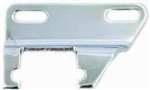 Chrome Alternator Header Bracket Steel SB Chevy 283-400 SWP