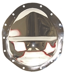 Chrome Steel Rear End Differential Cover GM 9.5""