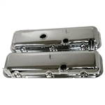 Chrome Valve Covers OEM Style BB Chevy 396-502