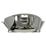 Chrome Fylwheel Cover GM Turbo 350/400 Louvered