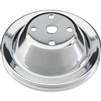 Chrome Single Groove Pulley Long Water Pump SB Chevy 283-400