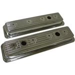 Chrome Valve Covers SB Chevy 1987-1996 Center bolt