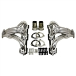 "1955-UP Chevy Small Block ""Hugger"" Headers - Chrome"