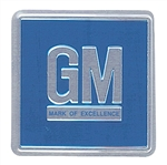 1968-75 Chevelle Door Jamb Decal Blue