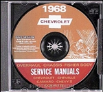 1968 Corvette Shop Repair Manual CD