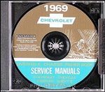 1969 Corvette Shop Repair Manual CD