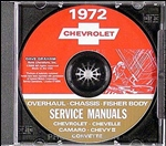1972 Corvette Shop Repair Manual CD