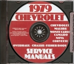 79 Corvette Shop Repair Manual CD