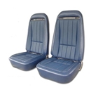 70-74 Corvette Vinyl Seat Covers Specify Color