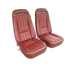75 Corvette Vinyl Seat Covers Specify Color