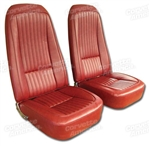 76 Corvette Vinyl Seat Covers Specify Color