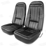 70-71 Corvette Leather Seat Covers Exact Reproduction Specify Color
