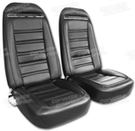 72 Corvette Leather Seat Covers Exact Reproduction Specify Color