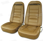 73-74 Corvette Leather Seat Covers Exact Reproduction Specify Color