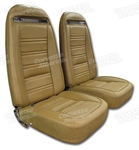 75 Corvette Leather Seat Covers Exact Reproduction Specify Color