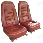 76-78 Corvette Leather Seat Covers Exact Reproduction Specify Color