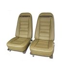 70-71 Corvette Leather Like Seat Covers Specify Color