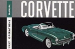 57 Corvette Factory owner's manual