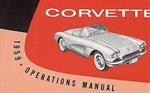 59 Corvette Factory owner's manual