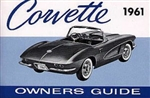 61 Corvette Factory owner's manual