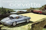 63 Corvette Factory owner's manual