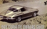 65 Corvette Factory owner's manual