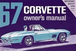 67 Corvette Factory owner's manual