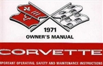 71 Corvette Factory owner's manual