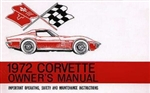 72 Corvette Factory owner's manual