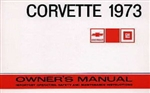73 Corvette Factory owner's manual