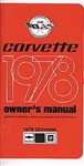 78 Corvette Factory Owner's ManuaL