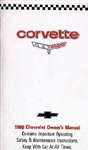 80 Corvette Factory Owner's Manual