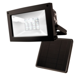 Solar-Powered Floodlight