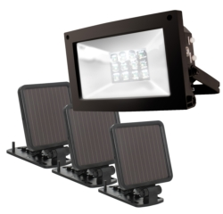 Landscape Lighting: Super Bright Solar Floodlight