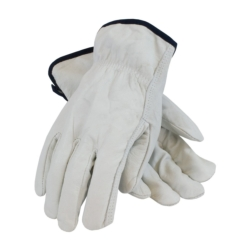 Driver's glove top grain cowhide leather straight