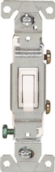 Cooper 1301-7 Framed Grounded Toggle Switch