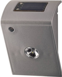 Boston Harbor SL2P-R2-SV-D2 Outdoor Solar Utility Light